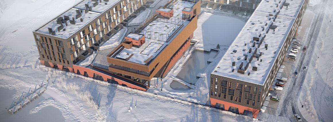 Ход строительства Luxberry lakes & forest в январе 2021 года