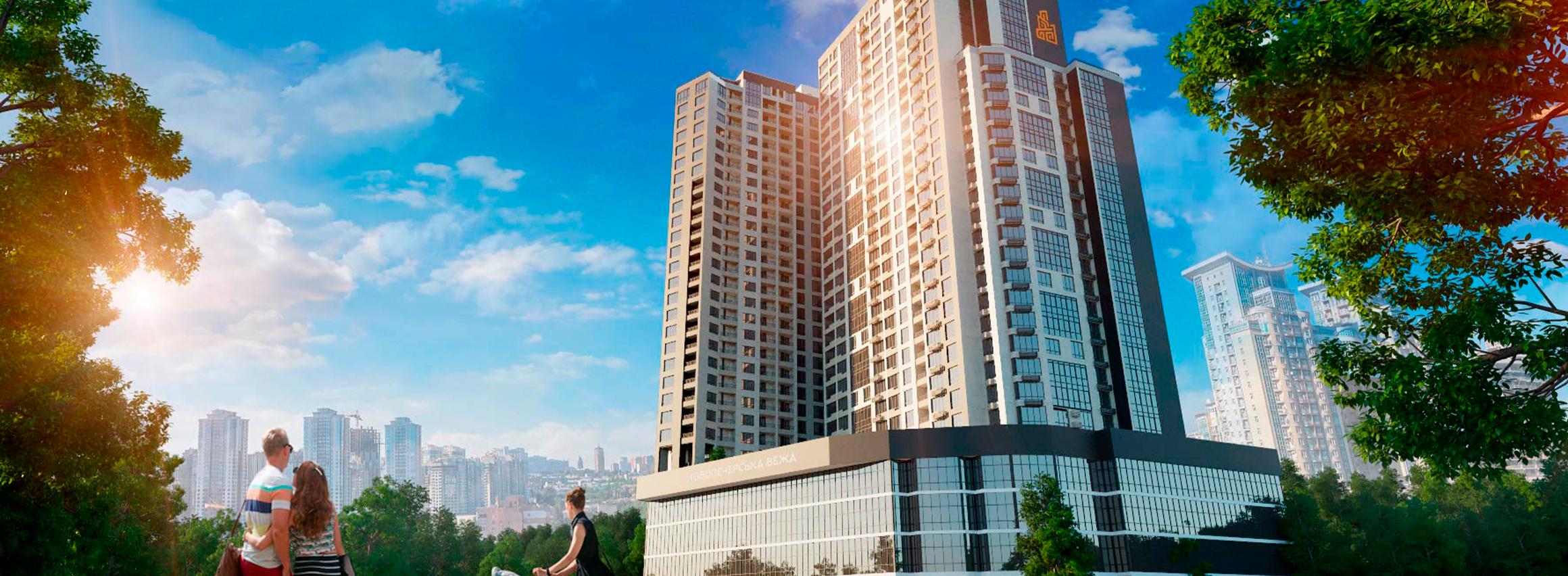 Акційна розстрочка на квартири в готовому ЖК «Новопечерська Вежа» з 1-м внеском від 30% Купуй та заселяйся