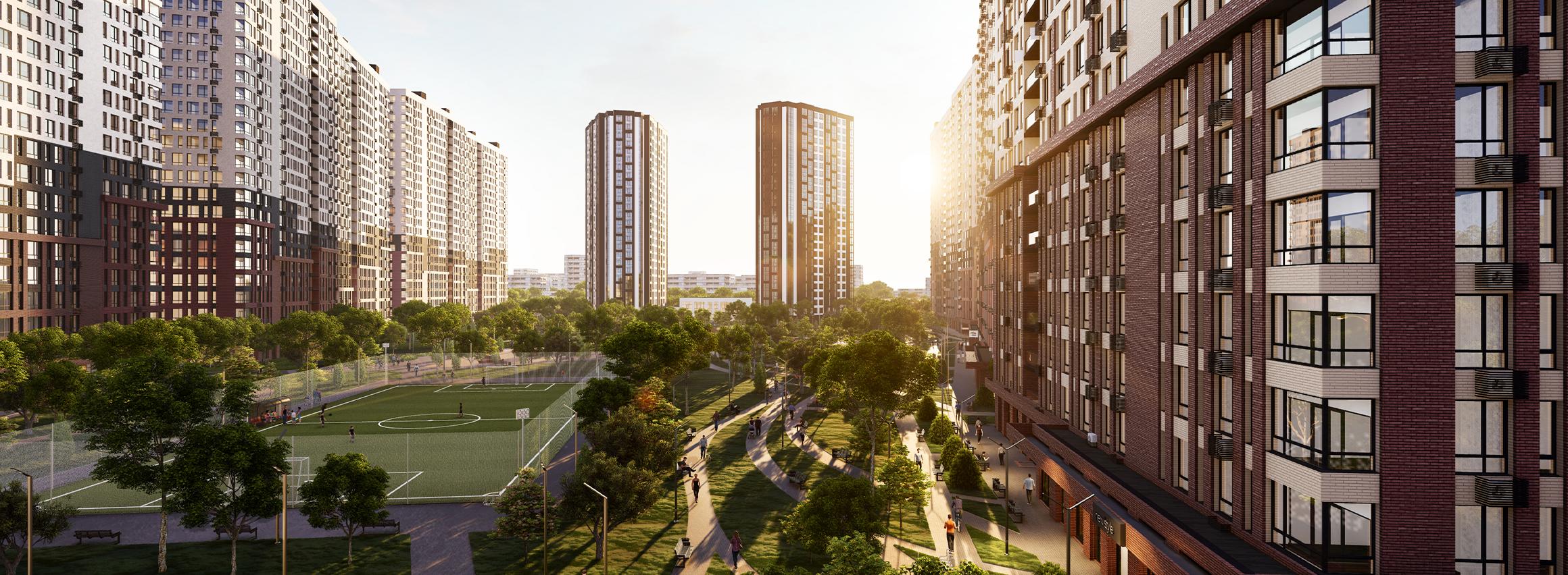 Большие квартиры с большой любовью от компании BudCapital