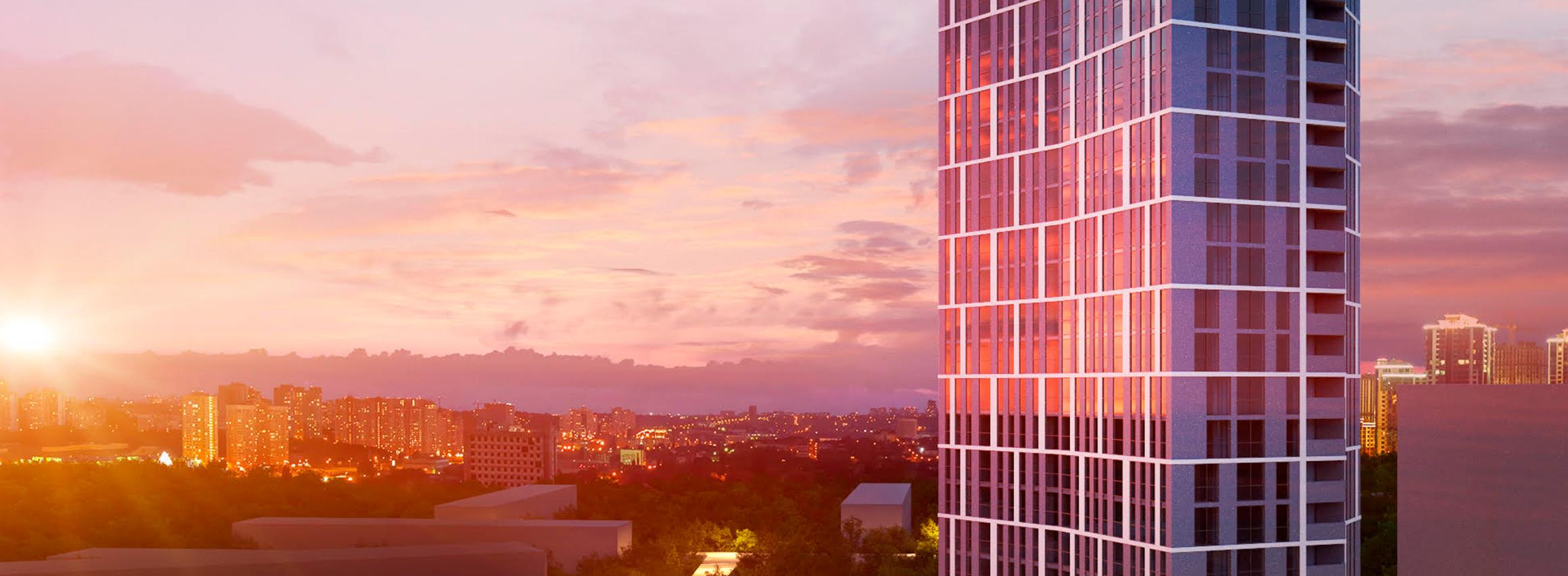Старт продажів паркомісць у житловому комплексі «Вежа на Ломоносова» від BudCapital
