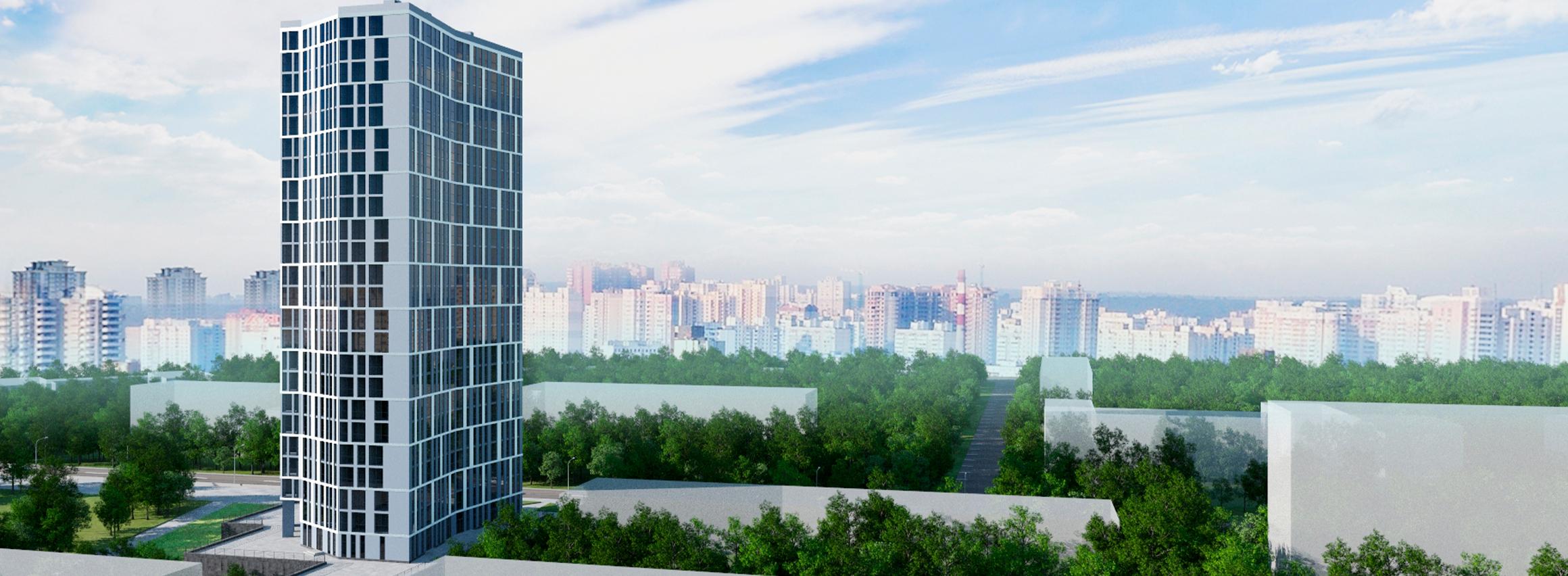 Ход строительства ЖК «Вежа на Ломоносова» в феврале 2021