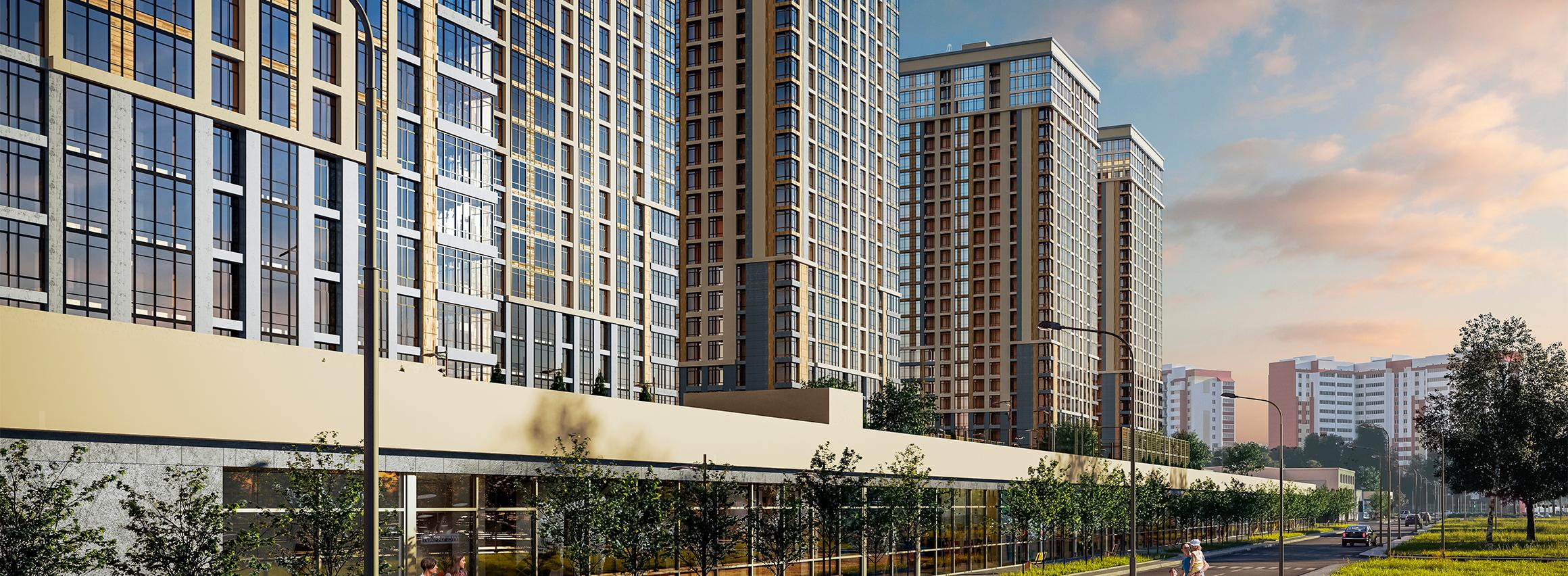 Повышение цен для инвесторов в жилых комплексах от компании BudCapital
